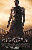 Gladiator 2000 Movie poster Russell Crowe Ridley Scott