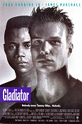 Gladiator 1992 Movie poster Cuba Gooding Jr Rowdy Herrington