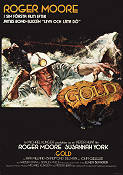 Gold 1974 Movie poster Roger Moore