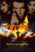 Goldeneye 1995 Movie poster Pierce Brosnan