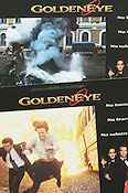 Goldeneye 1995 lobby card set Pierce Brosnan Martin Campbell