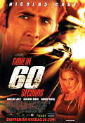 Gone in 60 Seconds 2000 poster Nicolas Cage
