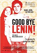 Good Bye Lenin 2003 Movie poster Daniel Br�hl