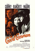 The Good German 2006 poster George Clooney Steven Soderbergh