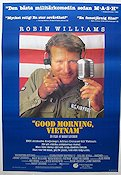 Good Morning Vietnam 1987 poster Robin Williams