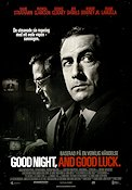Good Night and Good Luck 2005 Movie poster David Strathairn George Clooney