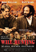 Good Will Hunting 1997 Movie poster Robin Williams
