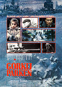 Gorky Park 1983 Movie poster William Hurt Michael Apted
