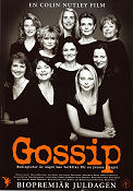 Gossip 2000 Movie poster Pernilla August Colin Nutley