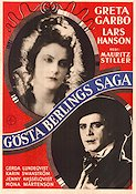 The Atonement of Gosta Berling 1924 Mauritz Stiller Greta Garbo Lars Hanson Selma Lagerl�f Silent movie