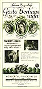 The Atonement of Gosta Berling 1924 Movie poster Greta Garbo Mauritz Stiller