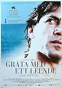 Mar adentro 2004 Movie poster Javier Bardem Alejandro Amenabar
