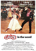 Grease 1978 Movie poster John Travolta Randal Kleiser