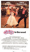 Grease 1978 poster John Travolta