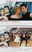 Grease 1978 lobby card set John Travolta Randal Kleiser