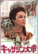 Great Catherine 1968 poster Jeanne Moreau Gordon Flemyng