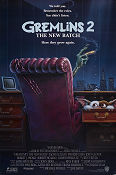 Gremlins 2 The New Batch 1990 poster Zach Galligan Joe Dante