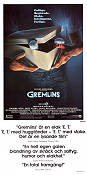 Gremlins 1984 Movie poster Zach Galligan Joe Dante