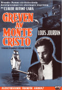 Greven av Monte Cristo 1965 Movie poster Louis Jourdan