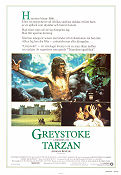 Greystoke The Legend of Tarzan 1984 poster Ralph Richardson Hugh Hudson