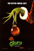 How the Grinch Stole Christmas 2000 poster Jim Carrey Ron Howard
