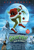 The Grinch 2000 poster Jim Carrey