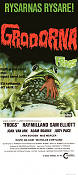 Frogs 1972 Movie poster Ray Milland