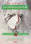 Grottbj�rnens folk 1985 Movie poster Daryl Hannah