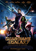 Guardians of the Galaxy 2014 movie poster Chris Pratt