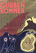 Gubben kommer 1939 Movie poster Victor Sj�str�m