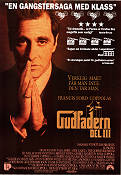 The Godfather: Part 3 1991 Movie poster Al Pacino Francis Ford Coppola