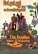Yellow Submarine 1968 poster Beatles