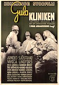Gula kliniken 1942 Movie poster Arnold Sjöstrand