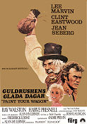Paint Your Wagon 1969 poster Lee Marvin Joshua Logan