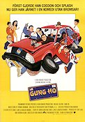Gung Ho 1986 Movie poster Michael Keaton