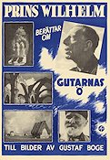 Gutarnas ö 1940 Movie poster Prins Wilhelm