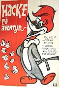 Hacke på äventyr 1968 Movie poster Woody Woodpecker