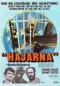 Hajarna benkn�ckarna 1975 Movie poster Cornel Wilde