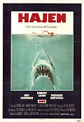 Jaws 1975 Movie poster Roy Scheider Steven Spielberg