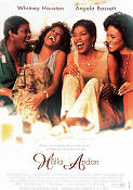 Waiting to Exhale 1995 Movie poster Whitney Houston