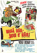 Hey There its Yogi Bear 1965 poster Yogi Bear