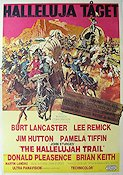 The Hallelujah Trail 1966 Burt Lancaster Lee Remick