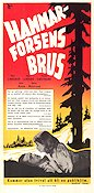 Hammarforsens brus 1948 Movie poster Peter Lindgren
