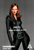 The Avengers 1998 Movie poster Uma Thurman