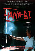 Hana-bi 1997 Movie poster Takeshi Kitano