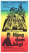 Hang em High 1968 poster Clint Eastwood