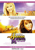 Hannah Montana the Movie 2009 poster Miley Cyrus Peter Chelsom