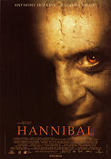 Hannibal 2001 poster Anthony Hopkins Ridley Scott