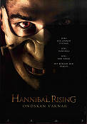 Hannibal Rising 2007 movie poster Gaspard Ulliel