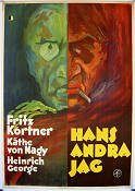 Der Andere 1930 Movie poster Fritz Kortner Robert Wiene